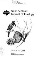 New Zealand Journal Of Ecology