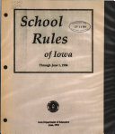 School Rules Of Iowa