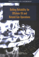 Bolting Reliability for Offshore Oil and Natural Gas Operations Book