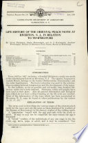 Life History of the Oriental Peach Moth at Riverton, N.J., in Relation to Temperature Pdf/ePub eBook