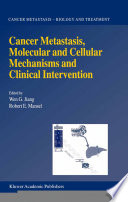 Cancer Metastasis Molecular And Cellular Mechanisms And Clinical Intervention Book PDF