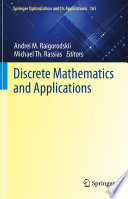 Discrete Mathematics and Applications Book PDF