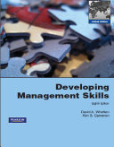 Developing Management Skills:Global Edition