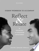 Student Workbook for Reflect and Relate
