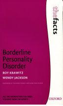 Pdf Borderline Personality Disorder