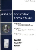 Journal of Economic Literature Book