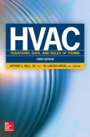 Pdf HVAC Equations, Data, and Rules of Thumb, Third Edition Telecharger