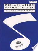 Michael Aaron Piano Course  Performance  Grade 1