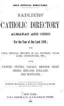 Sadliers  Catholic Directory  Almanac and Ordo