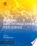 Emerging Nanotechnologies in Food Science Book