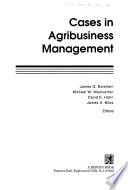 Cases in Agribusiness Management