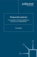 Financial Lexicon