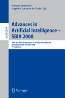 Advances in Artificial Intelligence - SBIA 2008 ebook