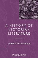A History of Victorian Literature Pdf/ePub eBook