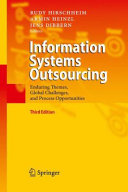 Pdf Information Systems Outsourcing Telecharger
