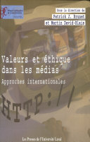 Valeurs et éthique dans les médias