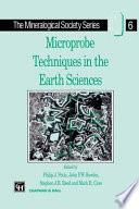 Microprobe Techniques In The Earth Sciences Book PDF