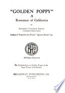 Golden Poppy  Book PDF