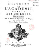 Mémoires de l'Académie des sciences de l'Institut de France
