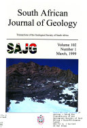 South African Journal of Geology Book