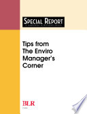 Tips From The Enviro Manager S Corner
