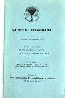 Saints of Telangana Book PDF