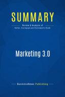 Summary: Marketing 3.0