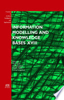 Information Modelling And Knowledge Bases Xviii Book PDF