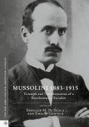 Mussolini 1883-1915