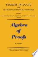 Algebra of Proofs