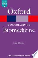 A Dictionary Of Biomedicine Book PDF
