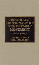 Historical Dictionary of the Olympic Movement