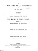The Law Journal Reports