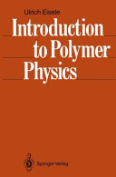 Introduction to Polymer Physics Book