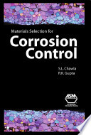 Materials Selection for Corrosion Control Book