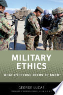 link to Military ethics : What everyone needs to know in the TCC library catalog
