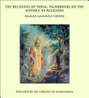 The Religions of India  Handbooks on the History of Religions