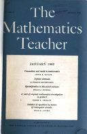 The Mathematics Teacher