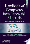 Handbook of Composites from Renewable Materials  Design and Manufacturing Book