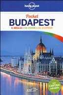 Copertina Libro Budapest. Con cartina