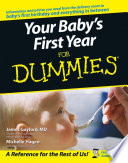 Your Baby s First Year For Dummies Book PDF