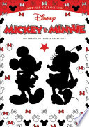 Art of Coloring: Mickey & Minnie