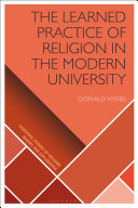 The Learned Practice of Religion in the Modern University