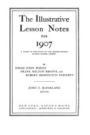 The Illustrative Lesson Notes For 1907