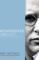 Bonhoeffer Abridged Book PDF