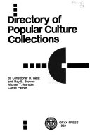 Directory of Popular Culture Collections