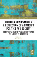 Coalition Government as a Reflection of a Nation's Politics and Society Pdf/ePub eBook
