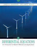 Differential Equations an Introduction to Modern Methods and Applications 2E with Wp Sa 5. 0