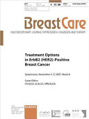 Treatment Options in ErbB2  HER2  Positive Breast Cancer
