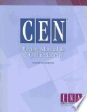CEN Review Manual and 2 Online Exams